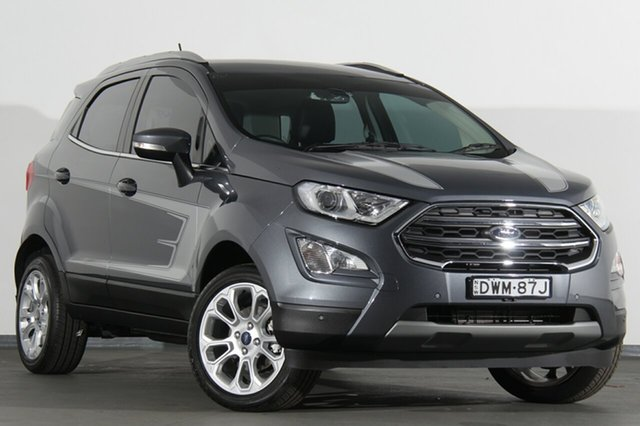 Used Ford Ecosport BL Titanium, 2017 Ford Ecosport BL Titanium Grey 6 Speed Automatic SUV
