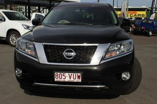 2015 Nissan Pathfinder R52 MY15 Ti X-tronic 4WD Black 1 Speed Constant Variable Wagon.