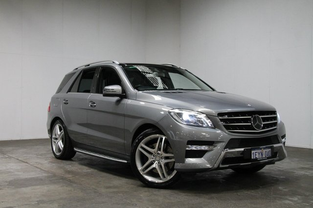 Used Mercedes-Benz ML500 W166 7G-Tronic +, 2013 Mercedes-Benz ML500 W166 7G-Tronic + Silver 7 Speed Sports Automatic Wagon