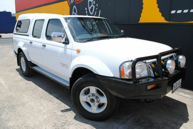 Used Nissan Navara D22 MY2003 ST-R, 2004 Nissan Navara D22 MY2003 ST-R Glacier White 5 Speed Manual Utility
