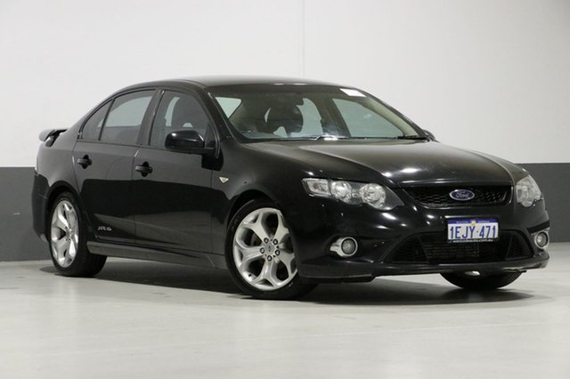Used Ford Falcon FG MK2 XR6T, 2011 Ford Falcon FG MK2 XR6T Black 6 Speed Auto Seq Sportshift Sedan