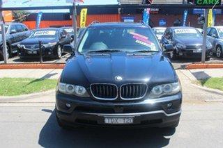 2004 BMW X5 E53 3.0I Black 5 Speed Auto Steptronic Wagon.