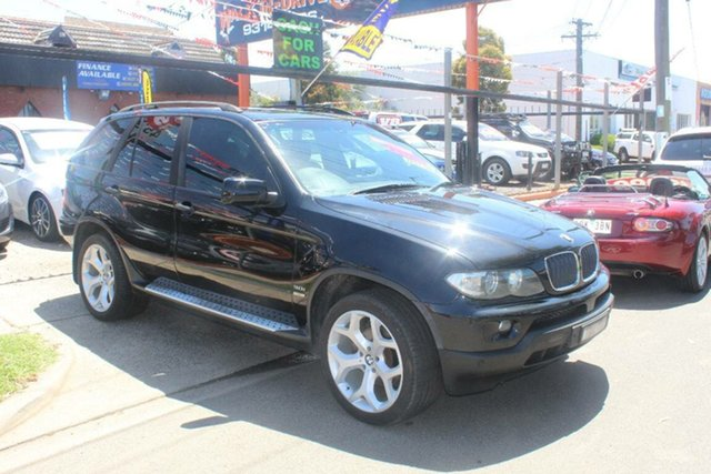 Used BMW X5 E53 3.0I, 2004 BMW X5 E53 3.0I Black 5 Speed Auto Steptronic Wagon