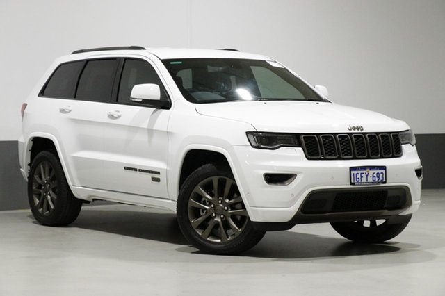 Used Jeep Grand Cherokee WK MY16 75TH Anniversary (4x4), 2017 Jeep Grand Cherokee WK MY16 75TH Anniversary (4x4) White 8 Speed Automatic Wagon