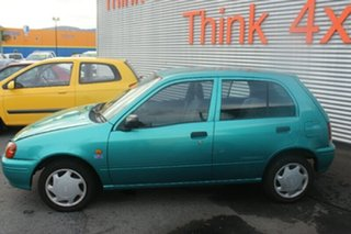 1997 Toyota Starlet Life Green Manual Hatchback