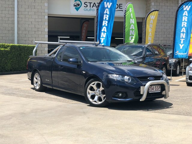 Used Ford Falcon FG MkII XR6 Ute Super Cab, 2012 Ford Falcon FG MkII XR6 Ute Super Cab Blue 6 Speed Sports Automatic Utility