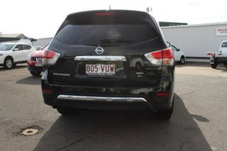 2015 Nissan Pathfinder R52 MY15 Ti X-tronic 4WD Black 1 Speed Constant Variable Wagon