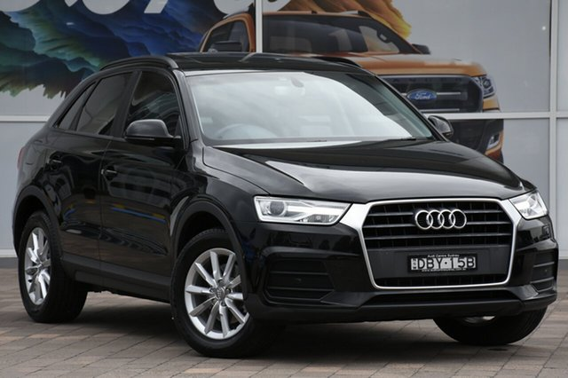 Used Audi Q3 8U MY16 TFSI S tronic, 2015 Audi Q3 8U MY16 TFSI S tronic Black 6 Speed Sports Automatic Dual Clutch SUV