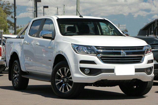 New Holden Colorado RG MY19 LTZ Pickup Crew Cab, 2019 Holden Colorado RG MY19 LTZ Pickup Crew Cab Summit White 6 Speed Sports Automatic Utility