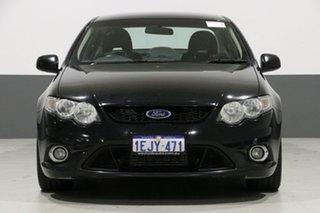 2011 Ford Falcon FG MK2 XR6T Black 6 Speed Auto Seq Sportshift Sedan.