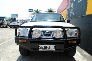 2004 Nissan Navara D22 MY2003 ST-R Glacier White 5 Speed Manual Utility