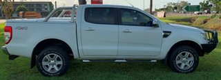 2014 Ford Ranger PX XLT Double Cab White 6 Speed Automatic Utility.