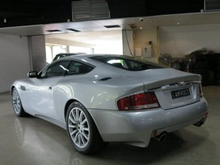 2002 Aston Martin Vanquish Silver 6 Speed Manual Auto-Clutch Coupe