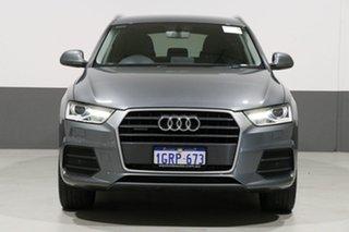 2015 Audi Q3 8U MY15 2.0 TFSI Sport Quattro (132kW) Grey 7 Speed Auto Dual Clutch Wagon.