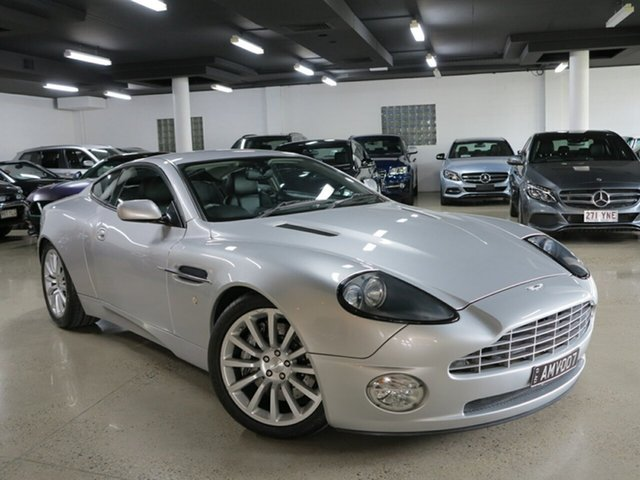 Used Aston Martin Vanquish  , 2002 Aston Martin Vanquish Silver 6 Speed Manual Auto-Clutch Coupe
