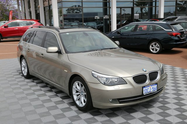 Used BMW 530i E61 MY08 Touring Steptronic, 2008 BMW 530i E61 MY08 Touring Steptronic Champagne 6 Speed Sports Automatic Wagon
