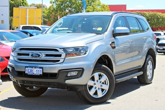 Used Ford Everest UA 2018.00MY Ambiente 4WD, 2018 Ford Everest UA 2018.00MY Ambiente 4WD Silver 6 Speed Sports Automatic Wagon