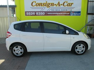 2008 Honda Jazz GE MY09 GLi White 5 Speed Automatic Hatchback