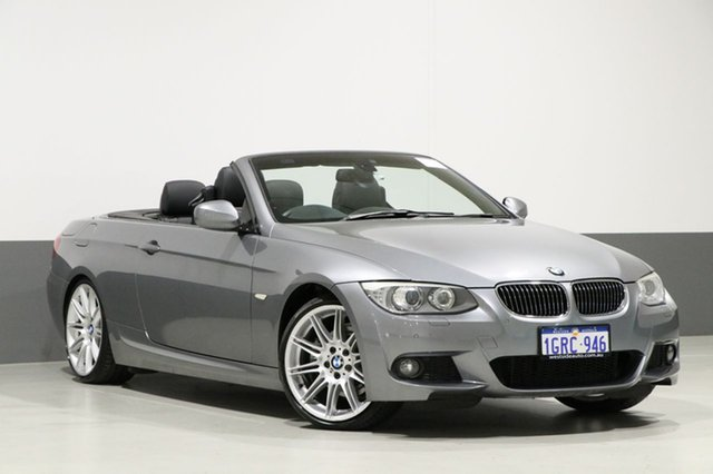 Used BMW 330d E93 MY11 , 2010 BMW 330d E93 MY11 Space Grey 7 Speed Auto Direct Shift Convertible
