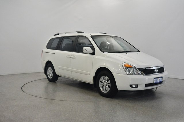 Used Kia Grand Carnival VQ MY14 S, 2014 Kia Grand Carnival VQ MY14 S White 6 Speed Sports Automatic Wagon