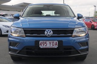 2017 Volkswagen Tiguan 5N MY17 110TSI DSG 2WD Trendline Blue 6 Speed Sports Automatic Dual Clutch