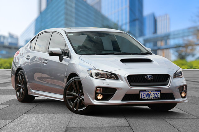 Used Subaru WRX V1 MY16 Premium Lineartronic AWD, 2015 Subaru WRX V1 MY16 Premium Lineartronic AWD Silver 8 Speed Constant Variable Sedan