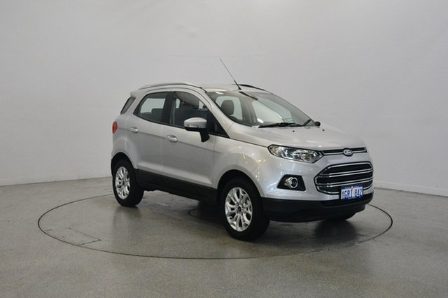 Used Ford Ecosport BK Titanium PwrShift, 2017 Ford Ecosport BK Titanium PwrShift Moondust Silver 6 Speed Sports Automatic Dual Clutch Wagon