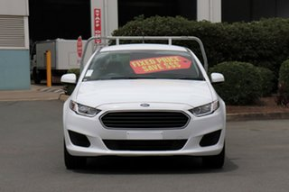 2016 Ford Falcon FG X Super Cab Winter White 6 Speed Sports Automatic Cab Chassis.