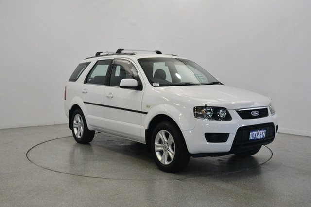 Used Ford Territory SY Mkii TX, 2010 Ford Territory SY Mkii TX White 4 Speed Sports Automatic Wagon