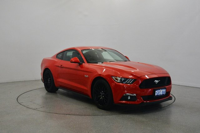 Used Ford Mustang FM 2017MY GT Fastback SelectShift, 2017 Ford Mustang FM 2017MY GT Fastback SelectShift Race Red 6 Speed Sports Automatic Fastback