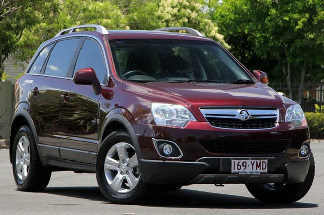 Used Holden Captiva CG Series II 5 AWD, 2011 Holden Captiva CG Series II 5 AWD Red 6 Speed Sports Automatic Wagon