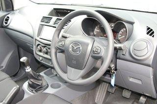2018 Mazda BT-50 UR0YE1 XT 4x2 Aluminium 6 Speed Manual Cab Chassis
