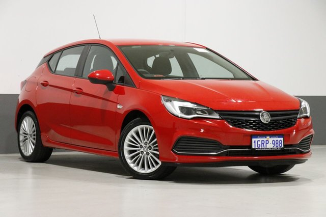 Used Holden Astra BK MY17 R, 2017 Holden Astra BK MY17 R Red 6 Speed Automatic Hatchback