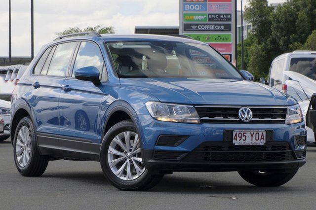 Used Volkswagen Tiguan 5N MY17 110TSI DSG 2WD Trendline, 2017 Volkswagen Tiguan 5N MY17 110TSI DSG 2WD Trendline Blue 6 Speed Sports Automatic Dual Clutch