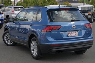 2017 Volkswagen Tiguan 5N MY17 110TSI DSG 2WD Trendline Blue 6 Speed Sports Automatic Dual Clutch.