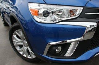 2018 Mitsubishi ASX XC MY19 ES ADAS ( 2WD) Lightning Blue Continuous Variable Wagon.