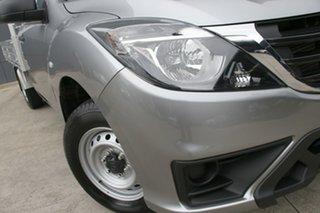 2018 Mazda BT-50 UR0YE1 XT 4x2 Aluminium 6 Speed Manual Cab Chassis.