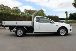 2016 Ford Falcon FG X Super Cab Winter White 6 Speed Sports Automatic Cab Chassis
