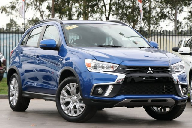 New Mitsubishi ASX XC MY19 ES ADAS ( 2WD), 2018 Mitsubishi ASX XC MY19 ES ADAS ( 2WD) Lightning Blue Continuous Variable Wagon