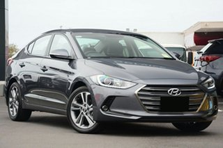 2018 Hyundai Elantra AD MY18 Elite Iron Grey 6 Speed Sports Automatic Sedan.