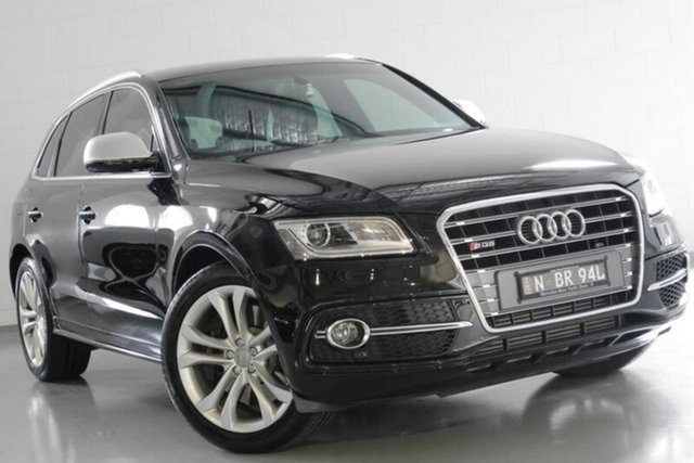 Used Audi SQ5 8R MY15 TDI Tiptronic Quattro, 2015 Audi SQ5 8R MY15 TDI Tiptronic Quattro Black 8 Speed Sports Automatic Wagon