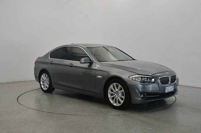 Used BMW 520d F10 MY1112 Steptronic, 2013 BMW 520d F10 MY1112 Steptronic Grey 8 Speed Sports Automatic Sedan