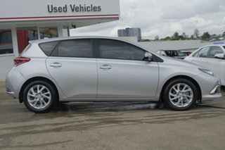 2017 Toyota Corolla ZRE182R Ascent Sport S-CVT Silver Pearl 7 Speed Constant Variable Hatchback.