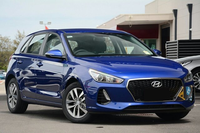 New Hyundai i30  Active, 2018 Hyundai i30 Active Intense Blue 7 Speed Automatic Hatchback