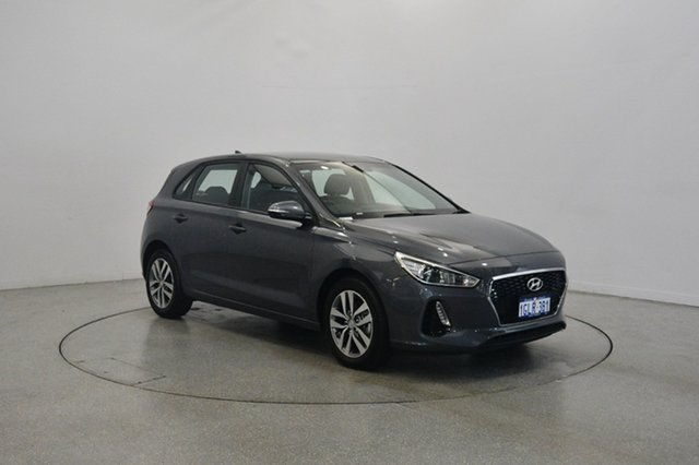 Used Hyundai i30 PD MY18 Active, 2018 Hyundai i30 PD MY18 Active Iron Grey 6 Speed Sports Automatic Hatchback