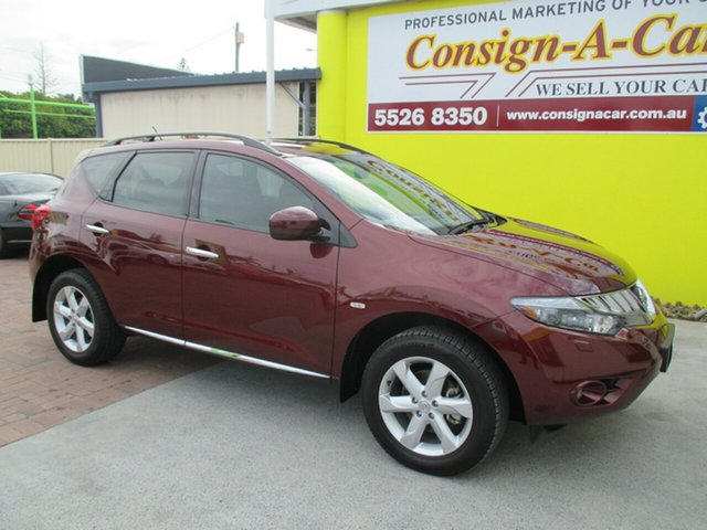 Used Nissan Murano Z51 TI, 2009 Nissan Murano Z51 TI Maroon 6 Speed Constant Variable Wagon