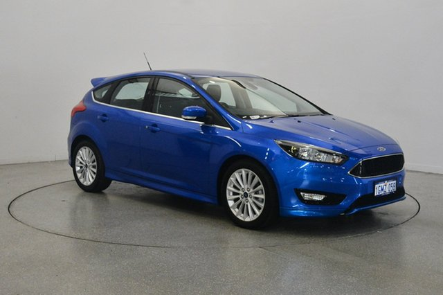 Used Ford Focus LZ Sport, 2018 Ford Focus LZ Sport Blue 6 Speed Automatic Hatchback