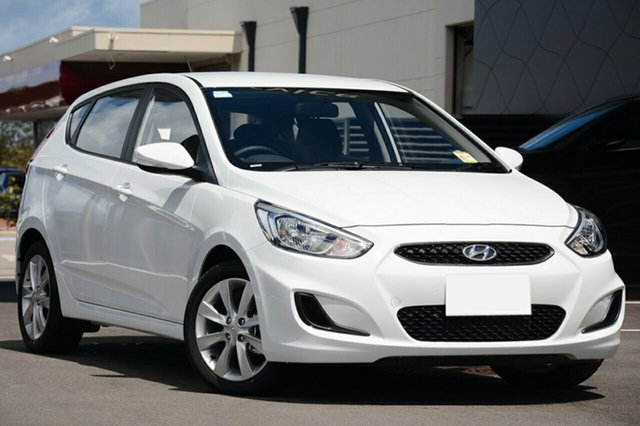 New Hyundai Accent RB6 MY18 Sport, 2018 Hyundai Accent RB6 MY18 Sport Chalk White 6 Speed Sports Automatic Hatchback