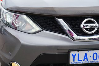 2016 Nissan Qashqai J11 TI Gun Metallic 1 Speed Constant Variable Wagon