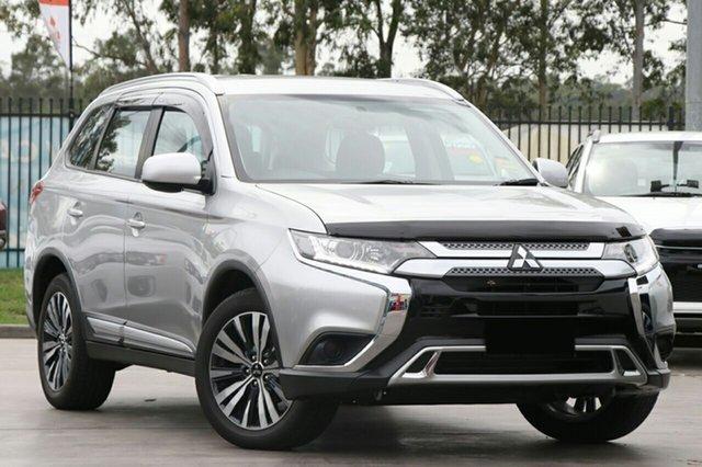 New Mitsubishi Outlander ZL MY19 ES 2WD, 2018 Mitsubishi Outlander ZL MY19 ES 2WD Starlight 6 Speed Constant Variable Wagon